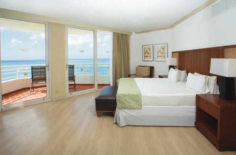 Interieur kamer Riu Palace Antillas