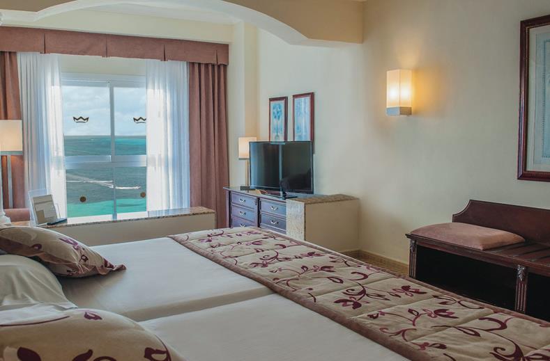 Interieur kamer Riu Palace Aruba
