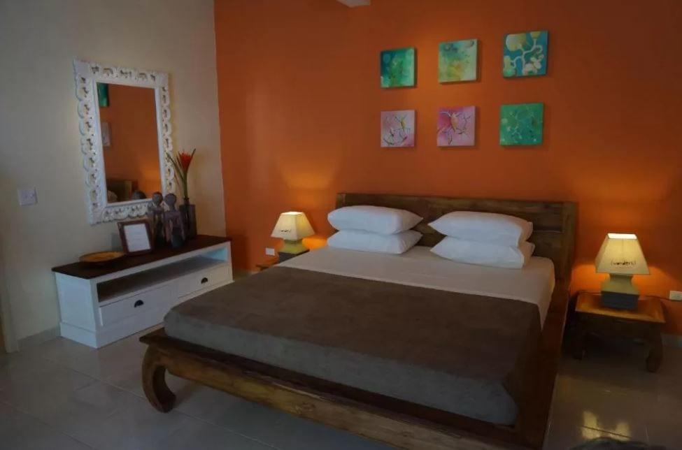 Interieur van een kamer in Wonders Boutique hotel op Aruba