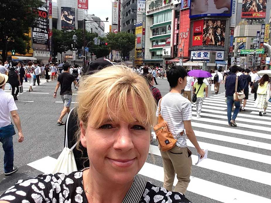 Marieke de Vries in China