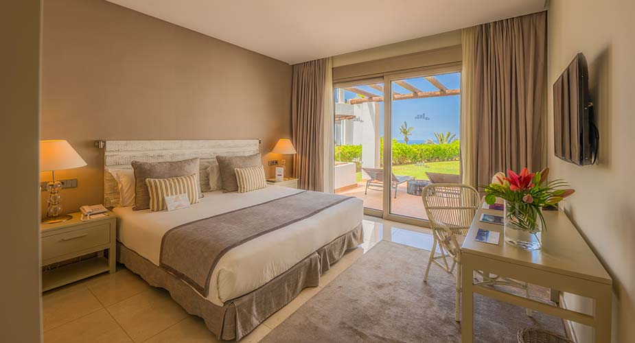 Slaapkamer in een appartement van Las Terrazas de Abama