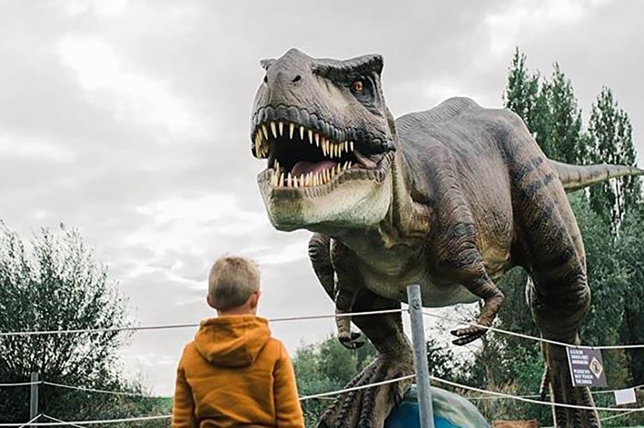 Dino Experience Park Coronaproof uitjes in Gouda