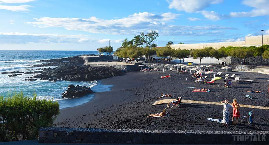 Playa La jaquita bij Alcala