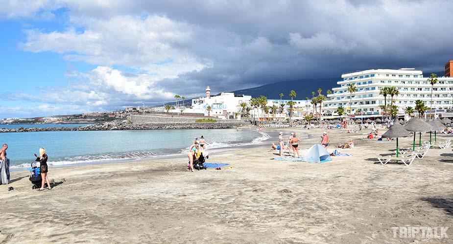 Playa de la Pinta in Playa de las Americas