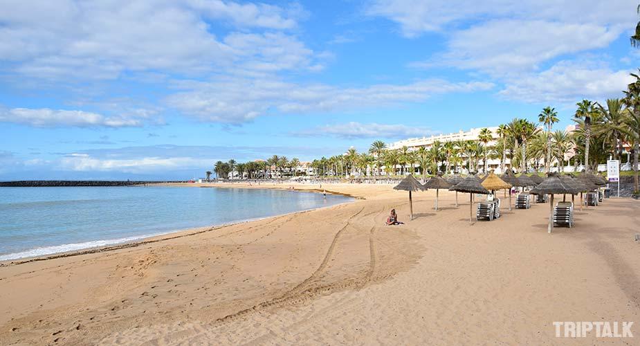 Strand van Playa del Camison  in Playa de las Americas