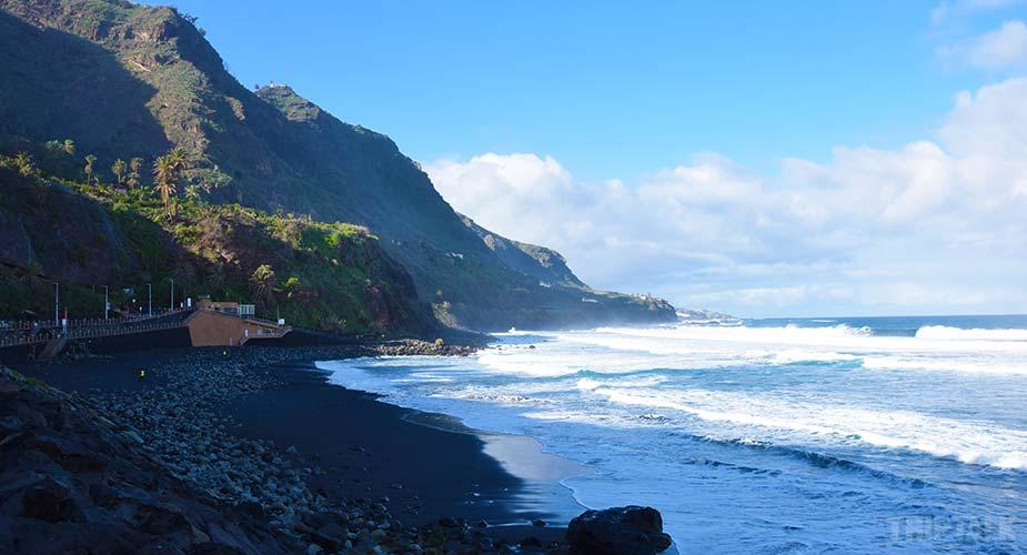 Strand van Playa del Socorro