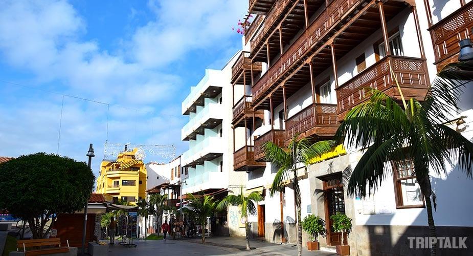 Het authentieke centrum van Puerto de la Cruz