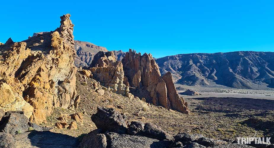 Rotsformatie bij El Teide