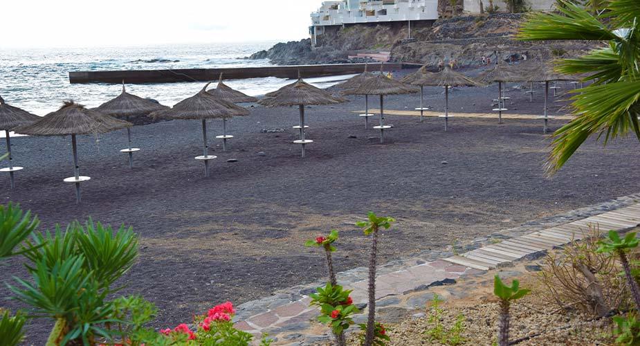 Strand van Playa Abajo