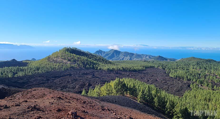 Genieten van wijds uitzicht op Tenerife