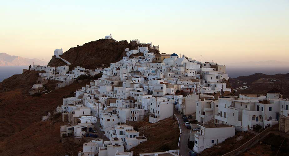 Serifos griekse eilanden bezoeken
