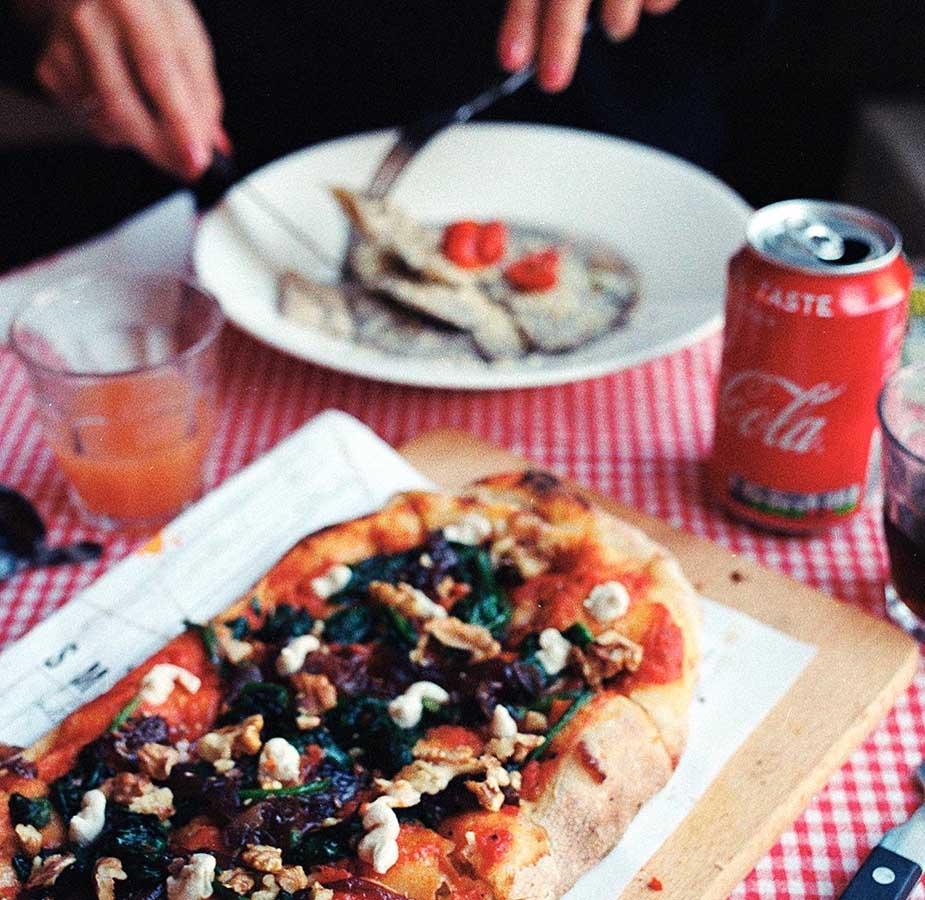 vegan eten bestellen in amsterdam bij trevi's