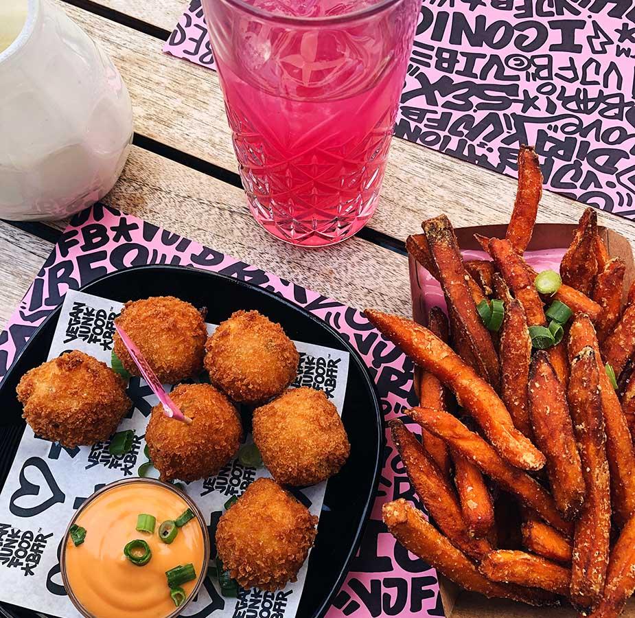 snacks vegan junk food bar amsterdam