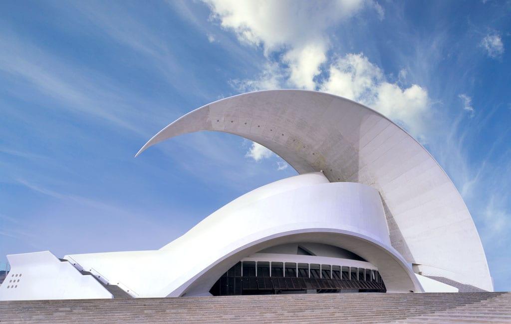 Operagebouw Auditorio de Tenerife in Santa Cruz