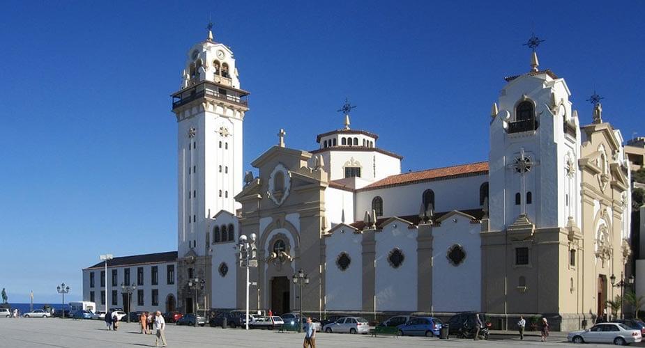 De katehdraal van Candelaria