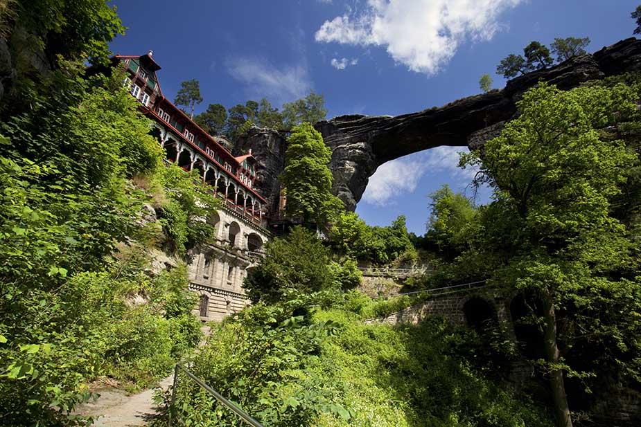 boheems zwitserland vakantie in Noord-Bohemen