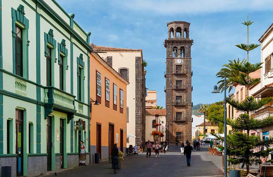 Het historische centrum van La Laguna