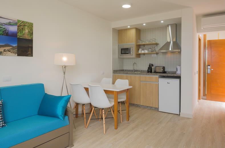 Interieur van een appartement Coral Dreams