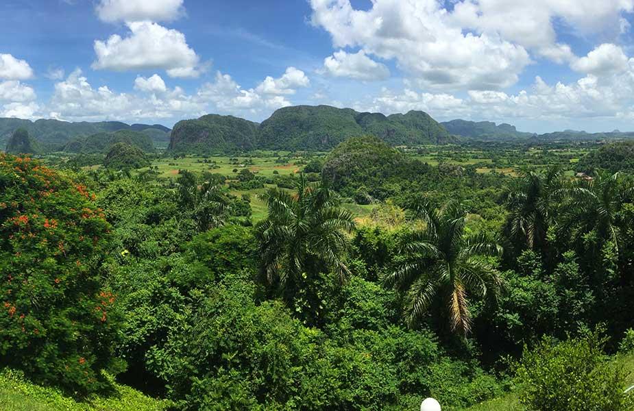 Landschap in Cuba