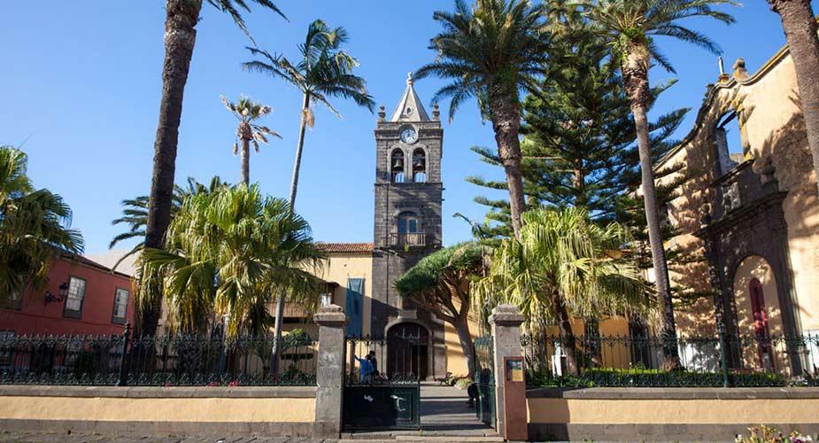Kerk in het historische centrum van La Laguna