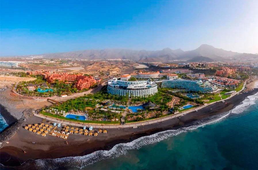 RIU Palace Tenerife vanuit de lucht