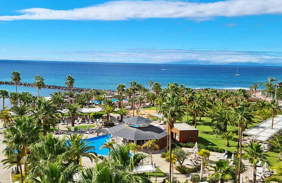 Het uitzicht vanaf RIU Palace Tenerife