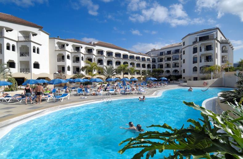 Zwembad appartementen Saint George op Tenerife