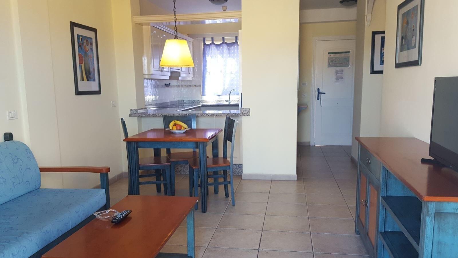 Interieur van een appartement in Tenerife Granada Park