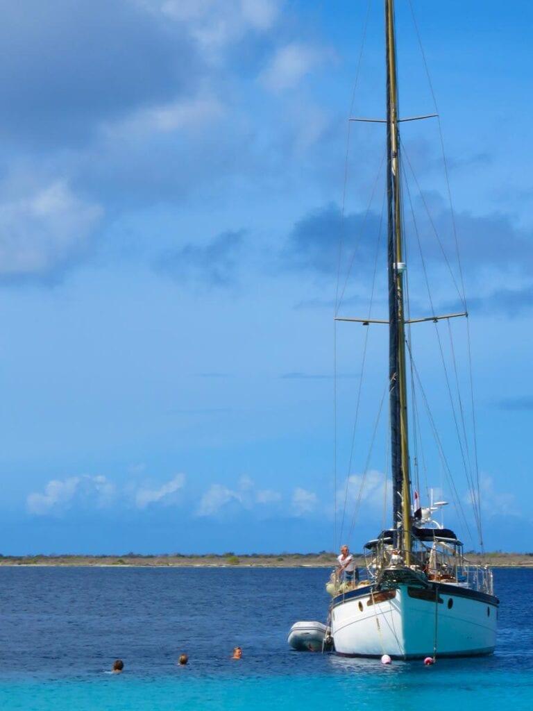 Zeilen in de Caribbean