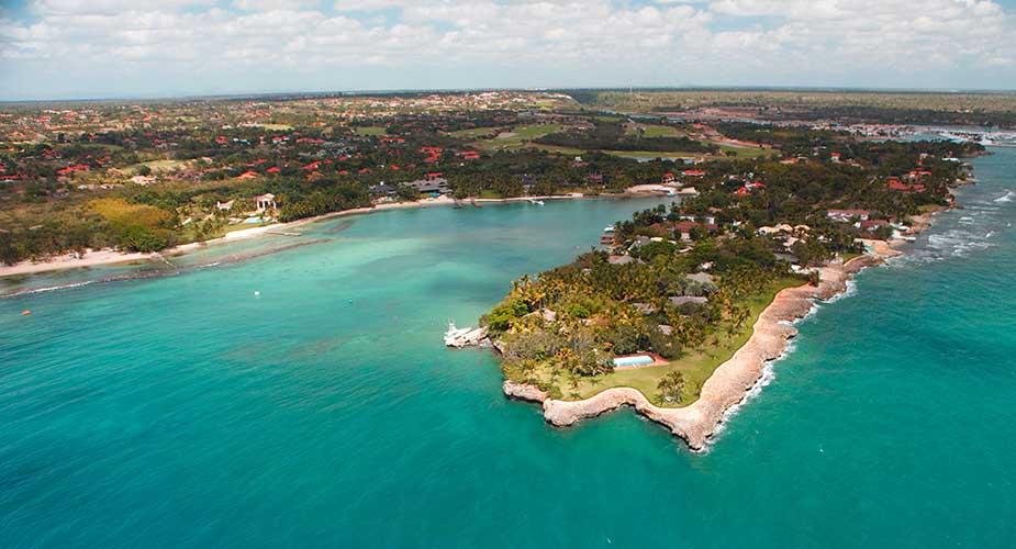 de mooiste stranden in Centraal-Amerika República Dominicana Casa de Campo