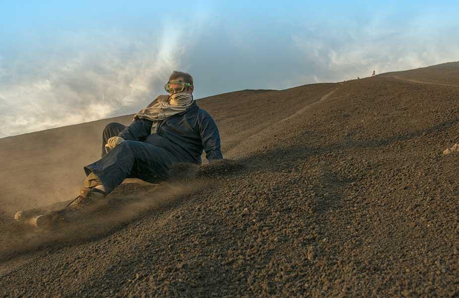 vulkaanboarden in Midden-Amerika