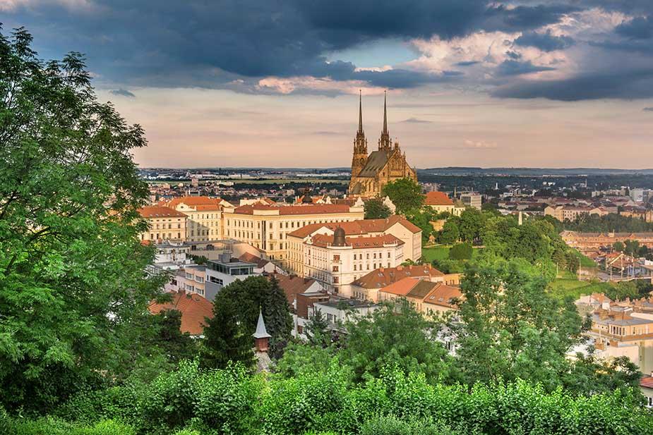 Brno bezoeken in Tsjechië