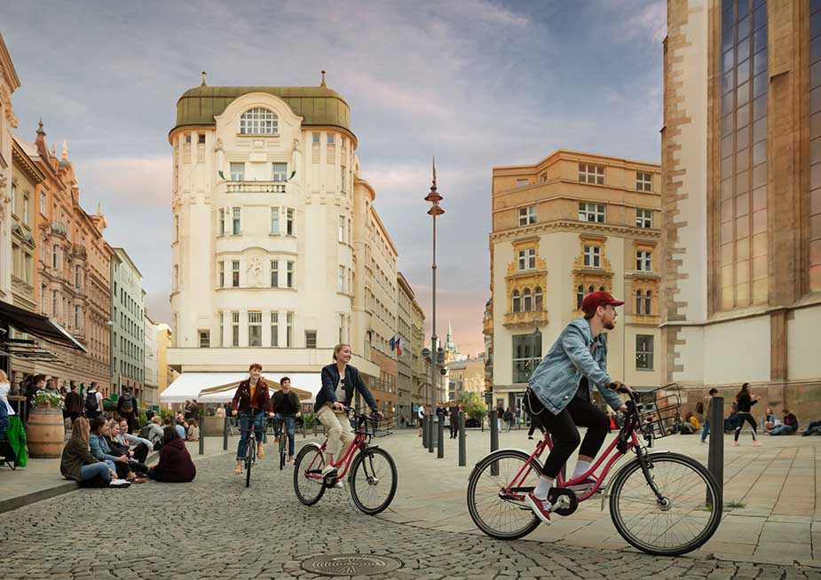 brno bezoeken tijdens vakantie in Moravië