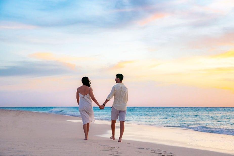Strand bij Bucuti Beach Aruba