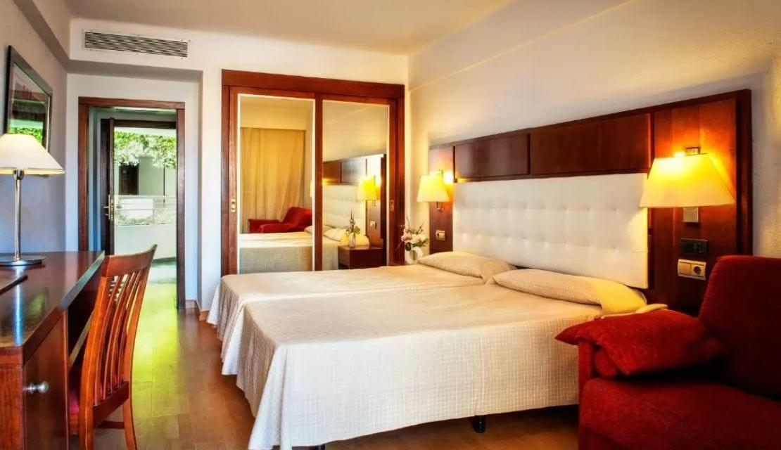 Interieur kamer hotel Gala Tenerife