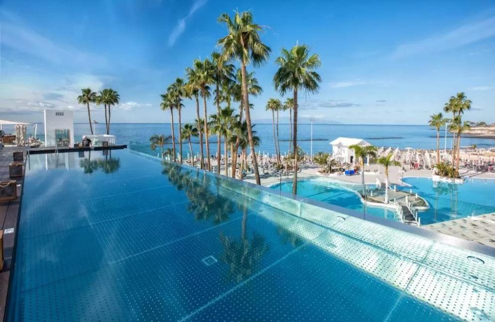 Zwembaden van Guayarmina Tenerife
