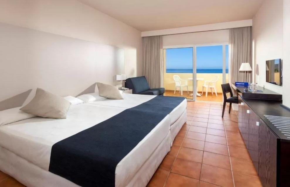 Interieur kamer hotel Jacaranda Tenerife