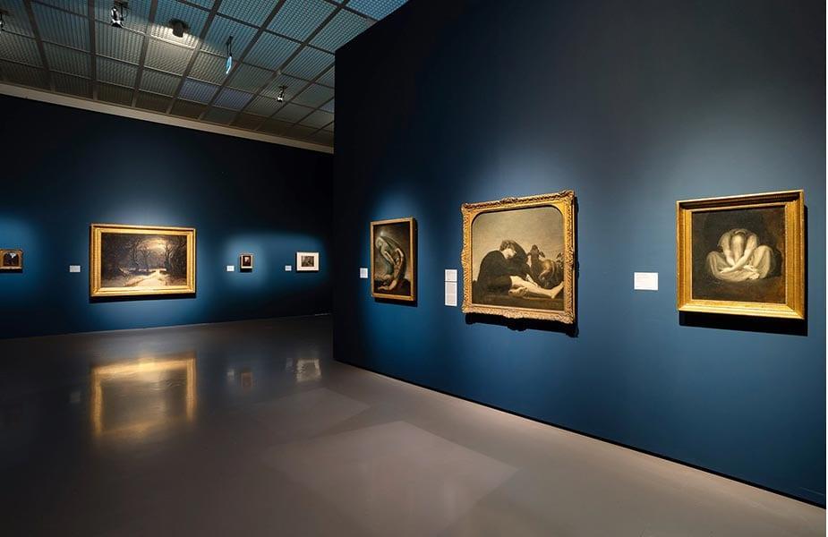 Galerij in het Kunsthaus Zurich