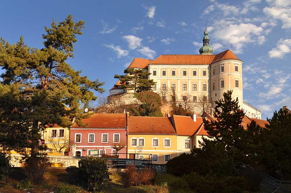 Mikulov vakantie in Moravië Tsjechië