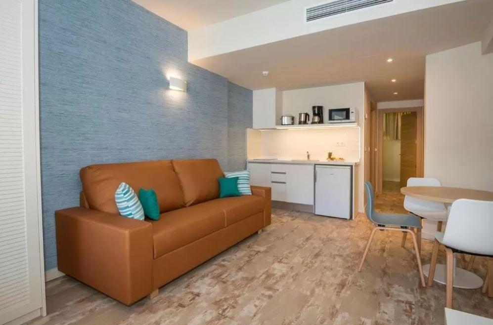 Interieur van een appartement La Pina