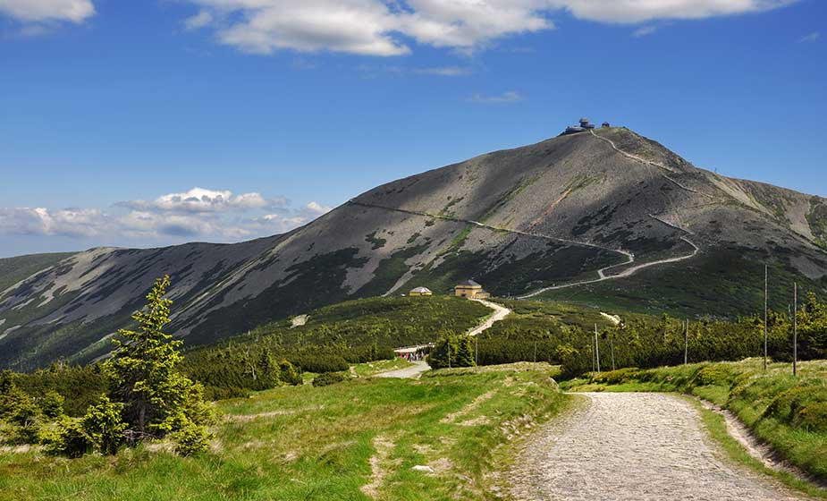 reuzengebergte vakantie in Noord-Bohemen