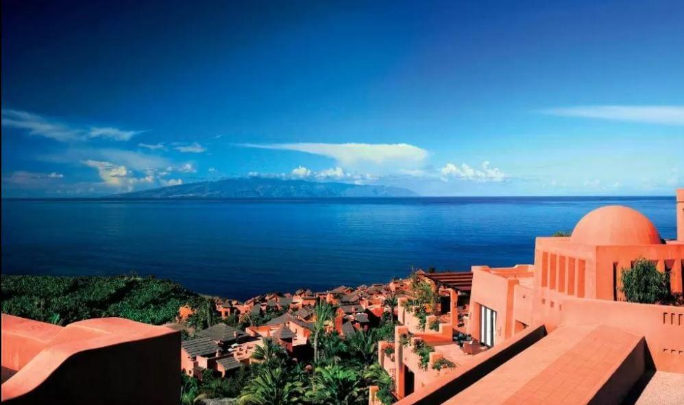 Ritz Carlton Tenerife uitzicht