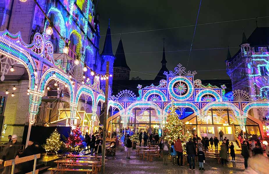 Het Uliminarium tijdens stedentrip Zurich in de winter