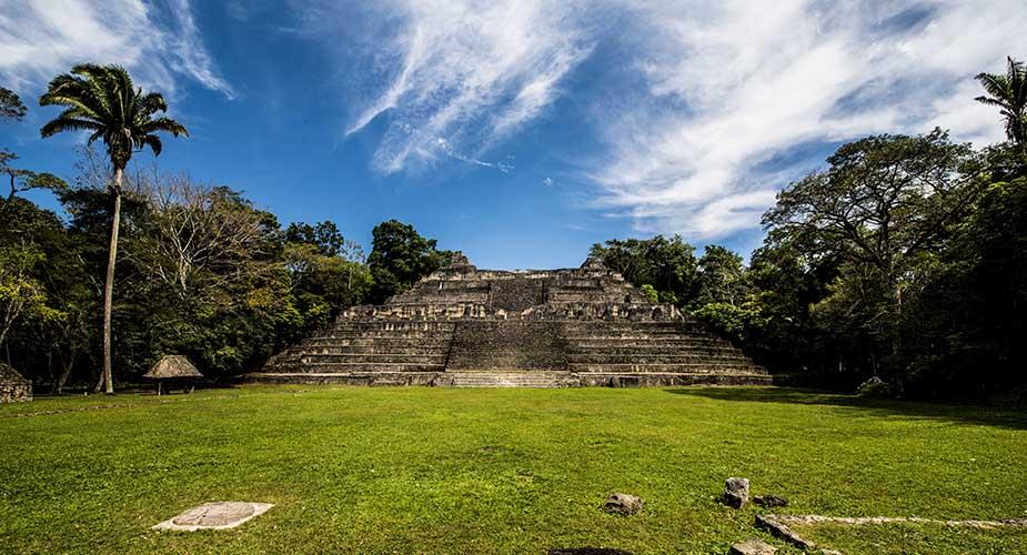 maya tempels in belize