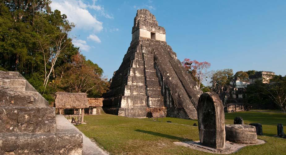 tikal maya tempels Guatemala