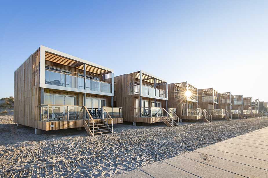 vakantie aan de nederlandse kust bij Hoek van Holland - Beach Villa's