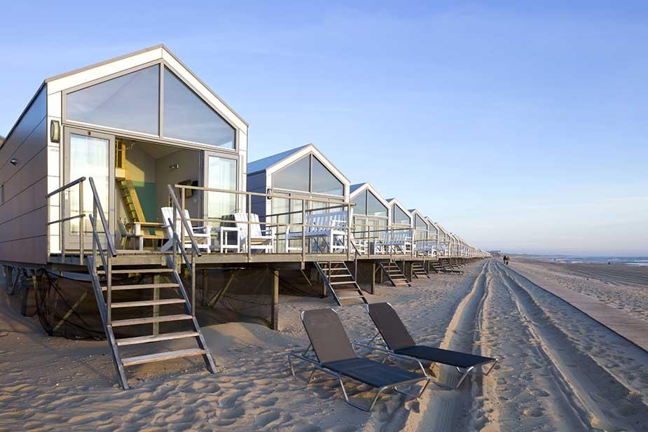 Strandhuisjes Julianadorp vakantie aan de nederlandse kust