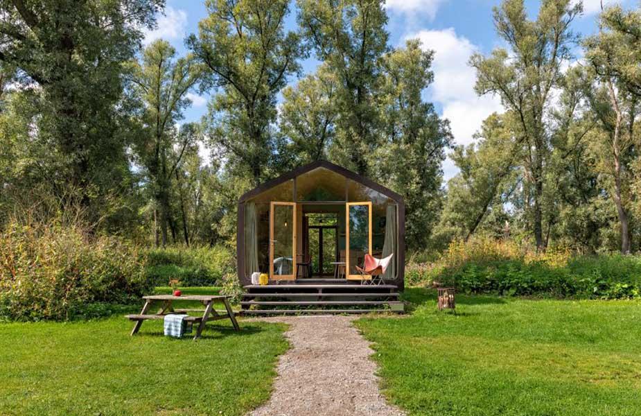 Natuurhuisje tiny house in Dordrecht