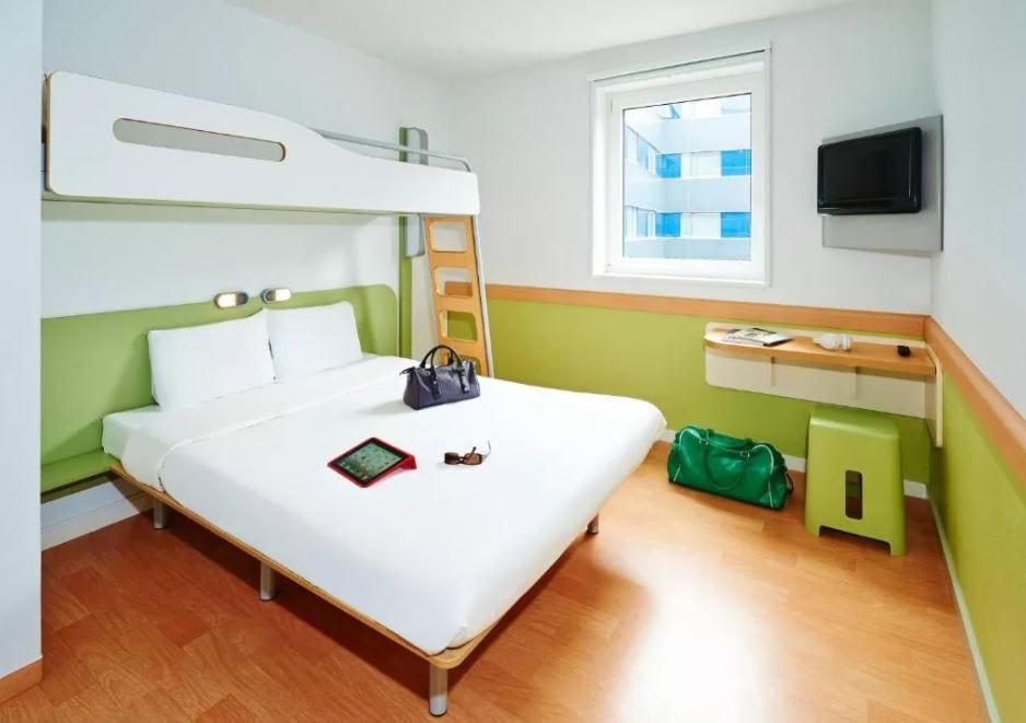 Interieur kamer Ibis budget Zurich
