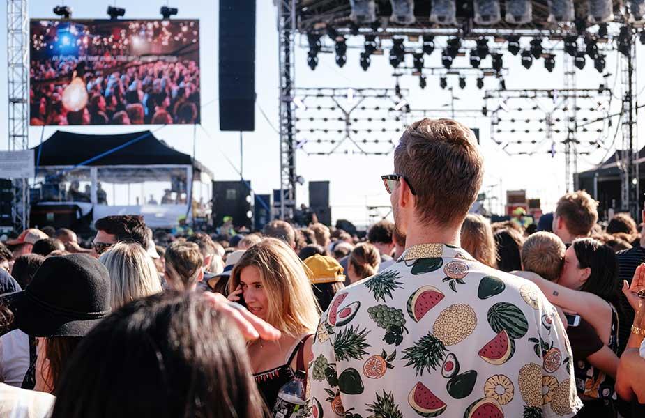 Feest in Melbourne Australië